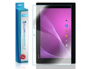 Sony Xperia Z2 Tablet Screen Protector (2-Pack), ILLUMI AquaShield Full Coverage Screen Protector for Sony Xperia Z2 Tablet HD Clear Anti-Bubble Film - Lifetime Warranty