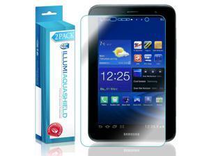 Samsung Galaxy Tab 2 7.0 Screen Protector (2-Pack), ILLUMI AquaShield Full Coverage Screen Protector for Samsung Galaxy Tab 2 7.0 HD Clear Anti-Bubble Film - Lifetime Warranty