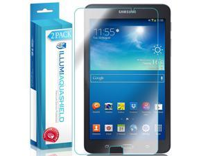 Samsung Galaxy Tab A 7.0 Screen Protector (2-Pack), ILLUMI AquaShield Full Coverage Screen Protector for Samsung Galaxy Tab A 7.0 HD Clear Anti-Bubble Film - Lifetime Warranty