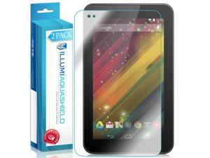 HP 7 Plus G2 Tablet Screen Protector (2-Pack), ILLUMI AquaShield Full Coverage Screen Protector for HP 7 Plus G2 Tablet HD Clear Anti-Bubble Film - Lifetime Warranty