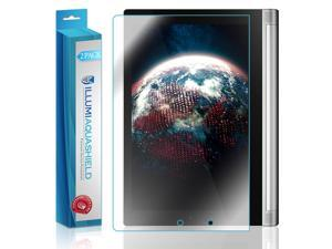 Lenovo Yoga Tablet 10 Screen Protector (2-Pack), ILLUMI AquaShield Full Coverage Screen Protector for Lenovo Yoga Tablet 10 HD Clear Anti-Bubble Film - Lifetime Warranty
