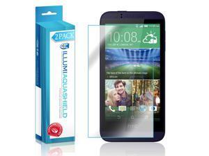 HTC Desire 510 Screen Protector (2-Pack), ILLUMI AquaShield Full Coverage Screen Protector for HTC Desire 510 HD Clear Anti-Bubble Film - Lifetime Warranty