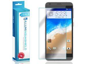 HTC Desire 630 Screen Protector (2-Pack), ILLUMI AquaShield Full Coverage Screen Protector for HTC Desire 630 HD Clear Anti-Bubble Film - Lifetime Warranty