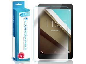 HP 10 G2 Tablet 2301 Screen Protector (2-Pack), ILLUMI AquaShield Full Coverage Screen Protector for HP 10 G2 Tablet 2301 HD Clear Anti-Bubble Film - Lifetime Warranty