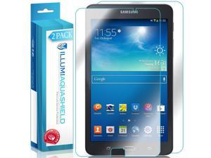 Samsung Galaxy Tab A 7.0 Screen Protector + Back Cover (2-Pack), ILLUMI AquaShield Full Coverage Back + Front Screen Protector for Samsung Galaxy Tab A 7.0 HD Clear Anti-Bubble Film Lifetime Warranty