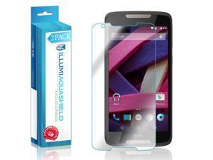 HTC Desire 828 Screen Protector (2-Pack), ILLUMI AquaShield Full Coverage Screen Protector for HTC Desire 828 HD Clear Anti-Bubble Film - Lifetime Warranty