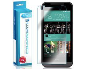 HTC Desire 520 Screen Protector (2-Pack), ILLUMI AquaShield Full Coverage Screen Protector for HTC Desire 520 HD Clear Anti-Bubble Film - Lifetime Warranty