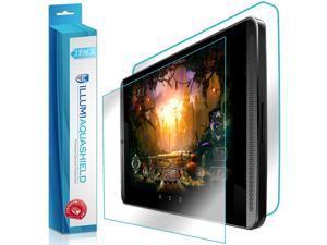 NVIDIA Shield Tablet K1 Screen Protector + Back Cover (2-Pack), ILLUMI AquaShield Full Coverage Back + Front Screen Protector for NVIDIA Shield Tablet K1 HD Clear Anti-Bubble Film Lifetime Warranty
