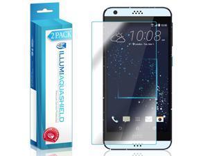 HTC Desire 530 Screen Protector (2-Pack), ILLUMI AquaShield Full Coverage Screen Protector for HTC Desire 530 HD Clear Anti-Bubble Film - Lifetime Warranty