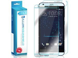 HTC Desire 530 Screen Protector + Back Cover (2-Pack), ILLUMI AquaShield Full Coverage Back and Front Screen Protector for HTC Desire 530 HD Clear Anti-Bubble Film - Lifetime Warranty