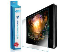 NVIDIA Shield Tablet K1 Screen Protector (2-Pack), ILLUMI AquaShield Full Coverage Screen Protector for NVIDIA Shield Tablet K1 HD Clear Anti-Bubble Film - Lifetime Warranty