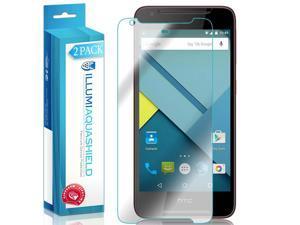 HTC Desire  628 Screen Protector [2-Pack], ILLUMI AquaShield Full Coverage Screen Protector for HTC Desire  628 HD Clear Anti-Bubble Film - Lifetime Warranty