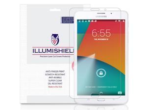 "Samsung Galaxy Tab J Screen Protector (7.0"")[2-Pack], iLLumiShield Screen Protector for Samsung Galaxy Tab J Clear HD Shield with Anti-Bubble & Anti-Fingerprint Film"