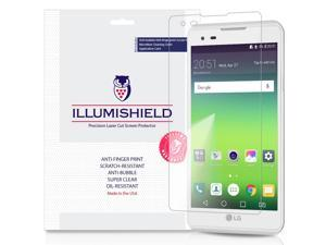 LG Tribute HD Screen Protector (LS676,Boost Mobile,Virgin Mobile)[3-Pack], iLLumiShield Screen Protector for LG Tribute HD Clear HD Shield with Anti-Bubble & Anti-Fingerprint Film