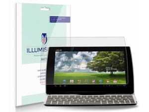 "ASUS EEE Pad Slider 10.1"" Screen Protector (SL101)[2-Pack], iLLumiShield - Anti-Glare (Matte) HD Clear Film / Anti-Bubble & Anti-Fingerprint / Japanese Invisible Shield + Lifetime Warranty"