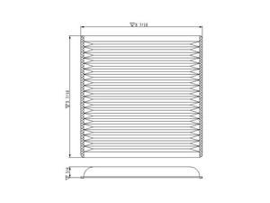 TYC 800005P Cabin Air Filter New