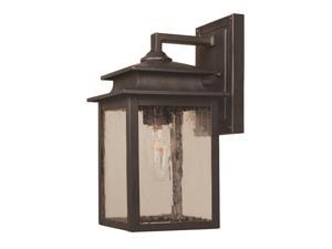 World Imports 9105-42 Sutton Clct Single Lgt Wall Sconce, Rust