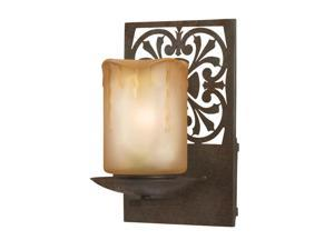 World Imports 9026-89 Adelaide Clct Wall-Mount Outdoor Sconce, Bronze