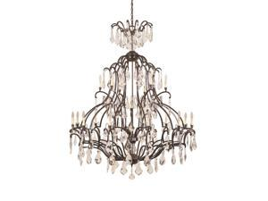 World Imports 2618-89 Timeless Elegance Clct 21-Lgt Chandelier, Bronze