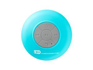 SDD Waterproof Bluetooth Shower Speaker With Suction Cup in Blue