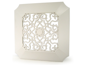 Panasonic FV-GL3TDB Replacement Designer Vent Cover W/ Brocade Pattern And Sculpted Corners