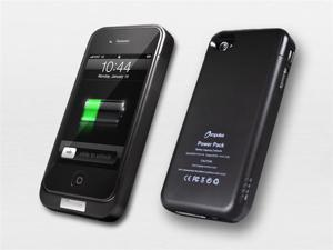 Impulse iPhone 4S/4 Extended Rechargeable Battery Case 2100mah + Free Charging Cable!