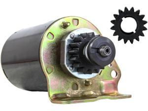STARTER MOTOR FITS JOHN DEERE TRACTOR 111 111H L118 L120 WITH FREE GEAR