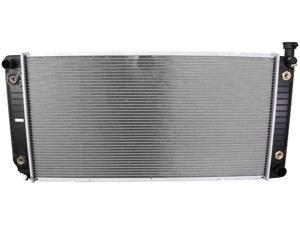 RADIATOR ASSEMBLY FITS CHEVY 97-99 C1500 C2500 C3500 SUBURBAN 5.7L V8 350 CID 21033 2550 52481442 GM3010240 1693 CU1693