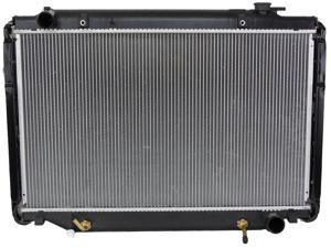 NEW RADIATOR ASSEMBLY TOYOTA 95-97 LAND CRUISER 4.5L L6 4477CC TO3010140 CU1917 2196 TO3010140 7292 CU1917 16400-66081 431441 ...