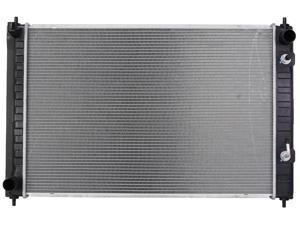 RADIATOR ASSEMBLY FITS NISSAN 09-11 MURANO 3.5L V6 3498CC W/ AUTOMATIC CVT TRANS 3372 21460-1AA0A NI3010217 7557 CU13039