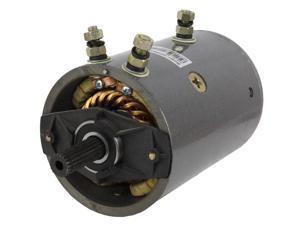 Winch MOTOR FITS Husky Warn 20 Spline Heavy Duty Bi Directional Mrvb4 Amj4635,...