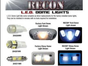 Recon 03-08 RAM LED DOME LITE