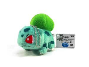 "Pokemon Best Wishes Ball Chain Plush Kanto/Johto Ver. - 48307 ~3"" Bulbasuar"