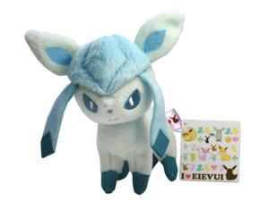 "Pokemon I LOVE Eevee Plush Doll - 48142 ~ 5.5"" Glaceon"