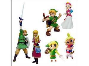 Legend of Zelda Skyward Sword Exclusive Figure Set of 6