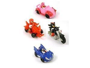 Sonic the Hedgehog Pullbacks Racer Cars - Set of 4