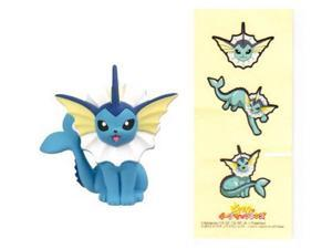 Pokemon X and Y Movie Figure Collection - Vaporeon with Stickers