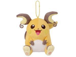 "Pokemon I Love Pikachu + 5"" Plush Doll Toy Banpresto - Raichu (48642)"