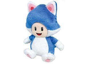 "Super Mario 3D World Plush Series Plush Doll ~ 7.5"" Cat Toad"