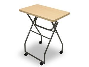 Furinno 11043MP Folding Multipurpose Personal Notebook Stand TV Tray Table