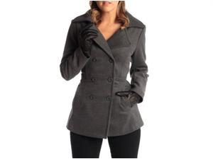 Alpine Swiss Women's Emma DB Wool Pea Coat