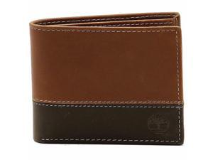 Timberland Mens Wallet Commuter Bifold Real Leather Billfold 2 ID 10 Card Slots