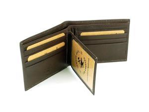 Hammer Anvil Men's Leather Wallet Multi Card High Capacity Compact Bifold