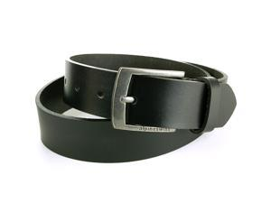 Alpine Swiss Men's Belt Genuine Dakota Leather 35MM Signature Buckle Jeans, Dress