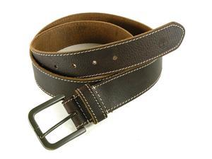 Timberland Mens Belt Genuine Boot Leather Dressy Classic Belts Casual or Dress