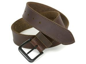 Timberland Men's Belt Genuine Leather Top Stitched Matte Buckle 40MM Sizes 32-42