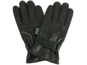 Alpine Swiss Men's Leather Gloves Velcro Strap Thinsulate Lining Insulated 40 Grain