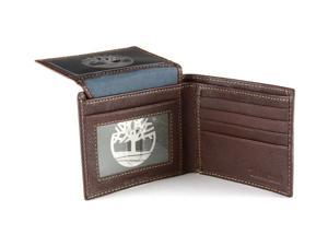 Timberland Bifold Wallet Passcase Billfold Tin Gift Box Soft Dressy Blix Leather