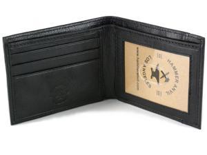 Hammer Anvil Men's Genuine Leather Front Pocket Wallet Thin Bifold Slim Billfold