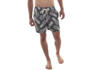 Alpine Swiss Mens Boardshorts Swim Trunks Hybrid Short Side Pockets Board Short